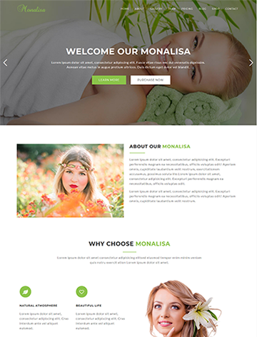 Monalisa – Health & Beauty WordPress Theme -
