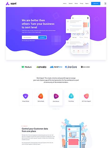 Appal – Creative Multi-purpose WordPress Theme -
