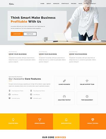 Redon – Multipurpose Landing Page WordPress Theme -
