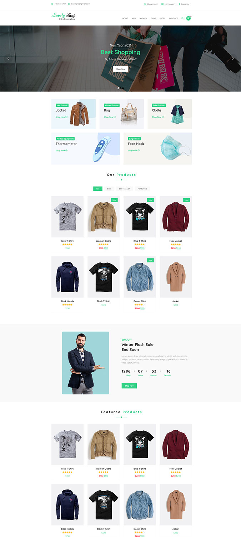 LovelyShop – WooCommerce WordPress Theme -